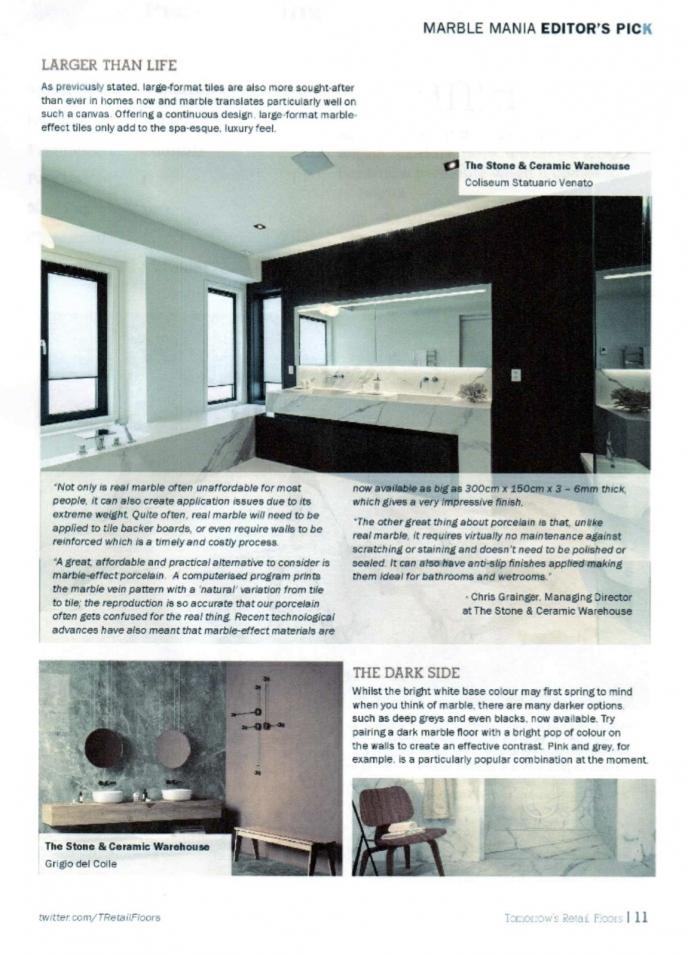 Stone & Ceramic Warehouse - Press Contact